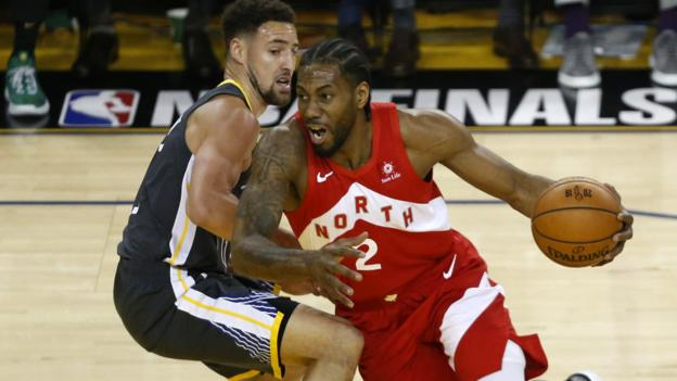 NBA Finals: Toronto Raptors take 3-1 series lead against Golden State Warriors thumbnail