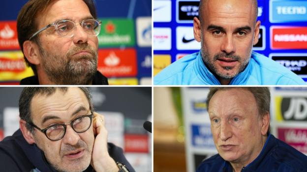 Premier League bosses Pep Guardiola, Jurgen Klopp & Maurizio Sarri want more action on racism thumbnail