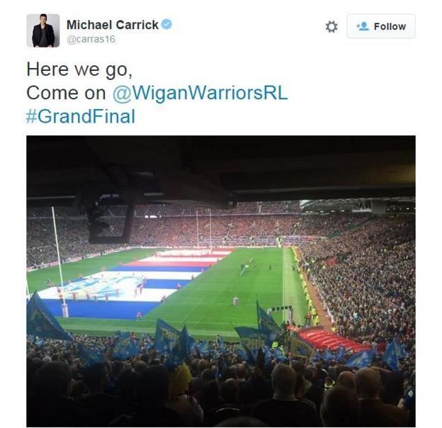 Michael Carrick on Twitter