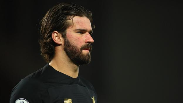 Alisson: Liverpool keeper to miss Atletico Madrid Champions League game thumbnail