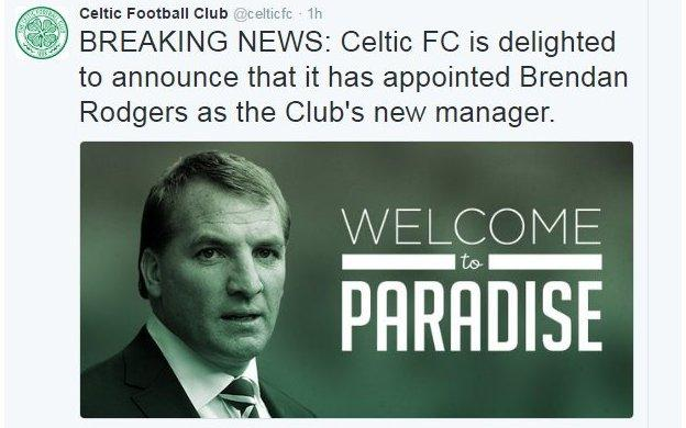 Celtic tweet