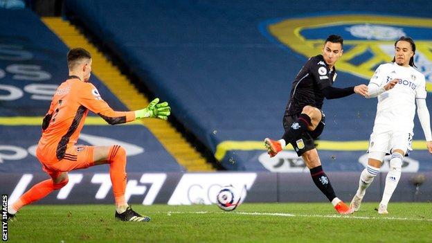 Anwar El Ghazi scores for Aston Villa