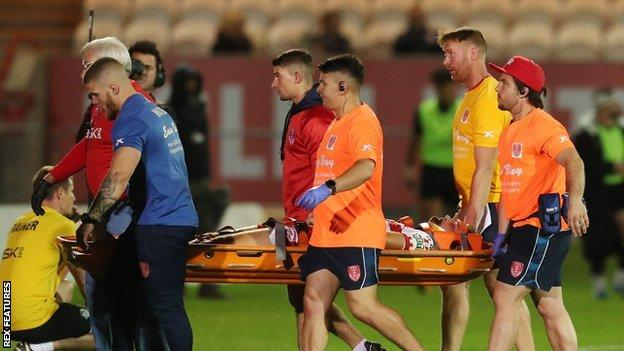 Hull KR were badly hampered by the first-half injury inflicted on Jimmy Keinhorst by his own team-mate Mose Masoe
