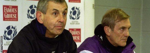 Sir Ian McGeechan, left, said he has memories of Morgan that he will always cherish