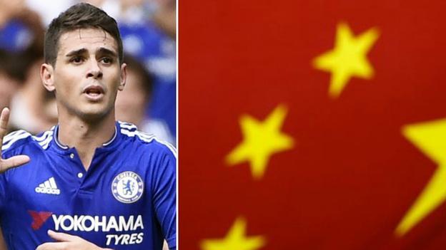 Oscar and China flag