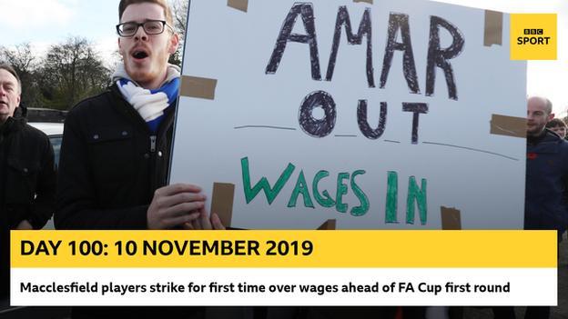 Macclesfield protest graphic
