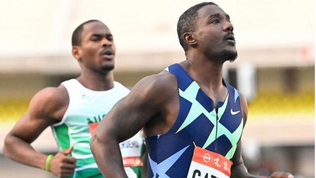 American sprinter Justin Gatlin