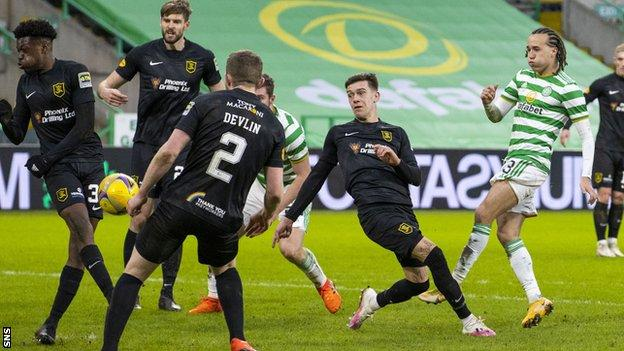 The draw with Livingston extended Celtic's winless run to three games
