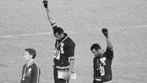 Colin Kaepernick's NFL protest made Black Power salute athlete Tommie Smith cry ...