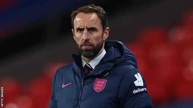 İngiltere yöneticisi Gareth Southgate