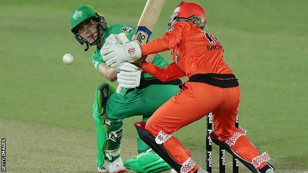 Wbbl England S Nat Sciver Helps Melbourne Stars Beat Perth Scorchers In Semi Final Bbc Sport