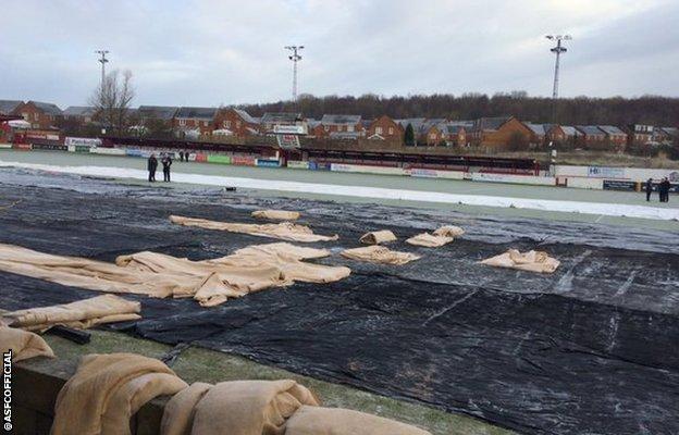 Accrington Stanley's Wham Stadium