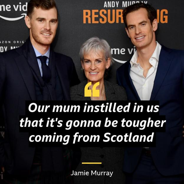 Jamie Murray and mother Judy