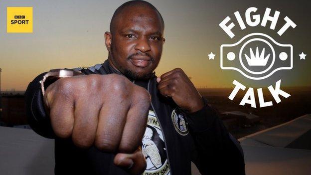 Briton's heavyweight contender Dillian Whyte