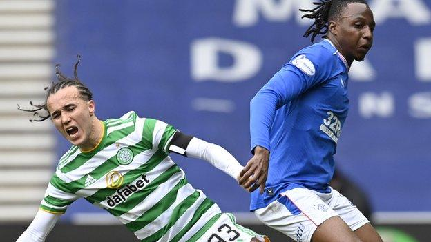 The Rangers midfielder tormented Diego Laxalt and had a hand in both Rangers' goals