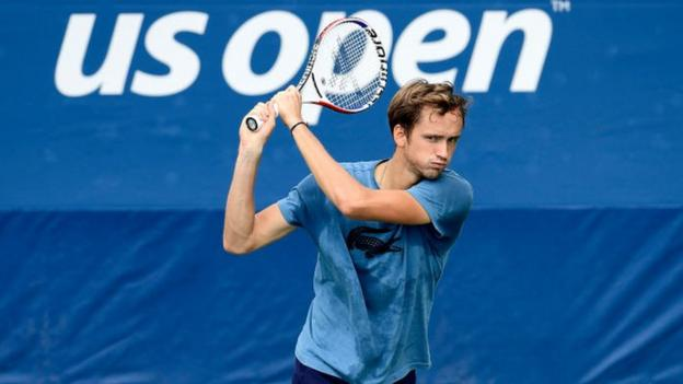 US Open 2019: Daniil Medvedev safely through in straight sets thumbnail