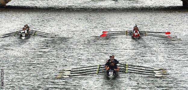 Rowing - eights racing