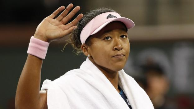 Indian Wells: Naomi Osaka & Simona Halep out, Garbine Muguruza & Bianca Andreescu through thumbnail