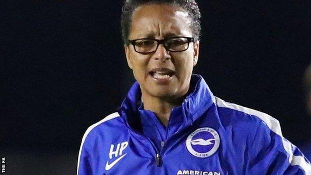 Brighton manager Hope Powell
