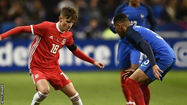 Wales and Bournemouth midfielder David Brooks