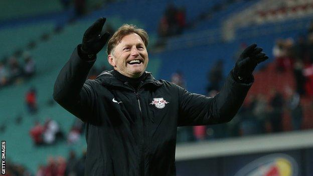 Ralph Hasenhuttl at RB Leipzig