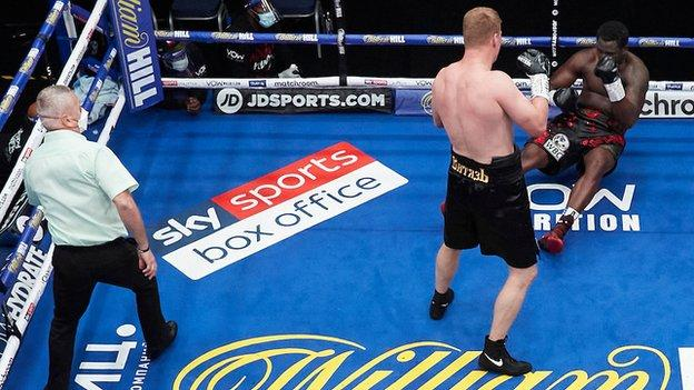 In August Povetkin knocked Whyte out after twice being on the canvas himself