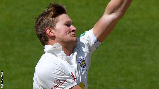 Barry McCarthy has made an impressive start to the season with Durham