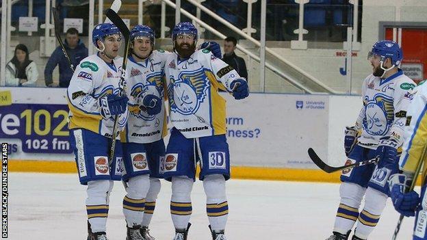 Fife Flyers celebrate