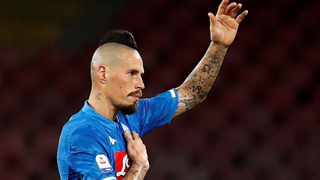 Marek hamsik napoli midfielder 39 in talks 39 over china move for Marek hamsik squadre attuali