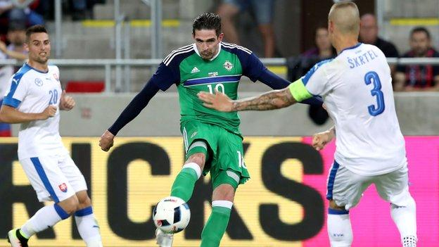 Northern Ireland and Slovakia played out a goalless draw in their last meeting in 2016