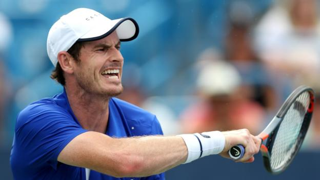 Murray positive despite first-round loss to Sandgren in Winston-Salem