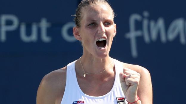 US Open: Karolina Pliskova through to second round in New York thumbnail
