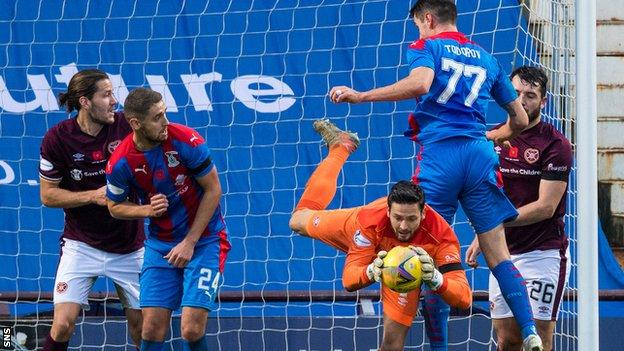Inverness Caley Thistle's home match with Hearts later this month has attracted donations from fans of the Edinburgh club and others