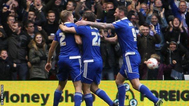 Ipswich players
