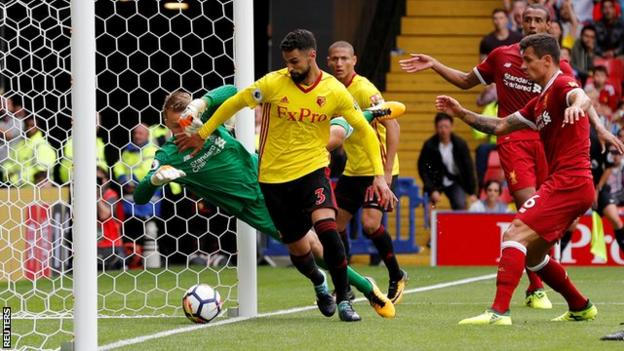 Jurgen Klopp was not happy Watford's late equaliser was allowed to stand