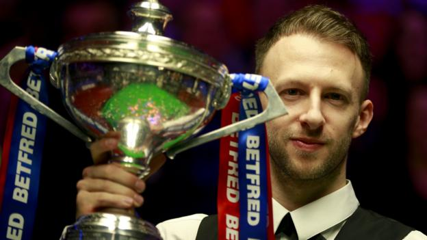 Judd Trump: World champion wins Player of the Year double