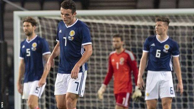 Scotland players