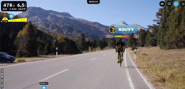 Tour de Suisse graphic