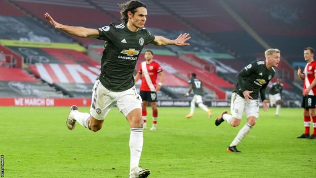 Southampton vs. Manchester United - Football Match Report