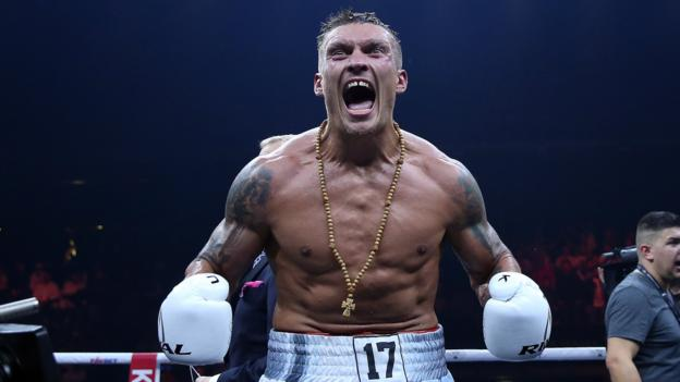 World Boxing Super Series: Oleksandr Usyk stops Marco Huck to defend title - BBC Sport