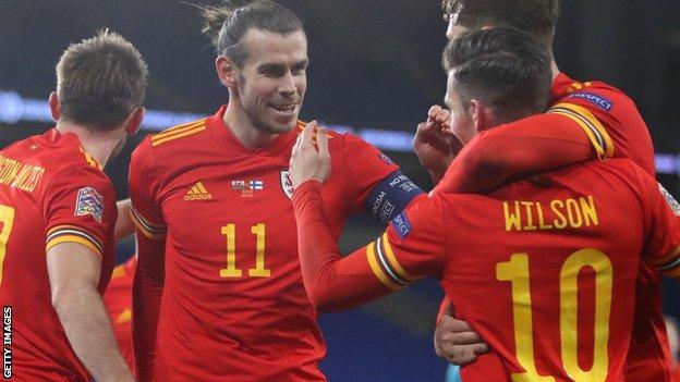 Gareth Bale et le Pays de Galles célèbrent