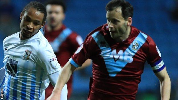 Port Vale's failure to beat bottom club Coventry City in march was a big blow for the Valiants