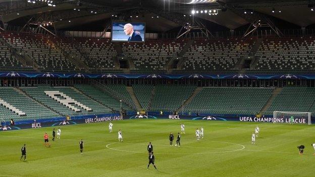Legia Warsaw's stadium