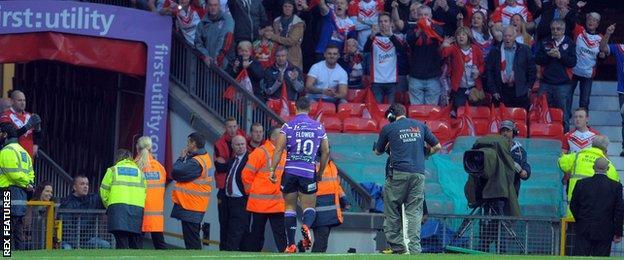 Wigan Warriors prop Ben Flower