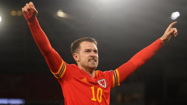 Wales 2-0 Hungary: Aaron Ramsey double sends Wales to Euros thumbnail