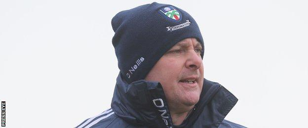 Malachy O'Rourke has guided Monaghan to the 2013 and 2015 Ulster titles