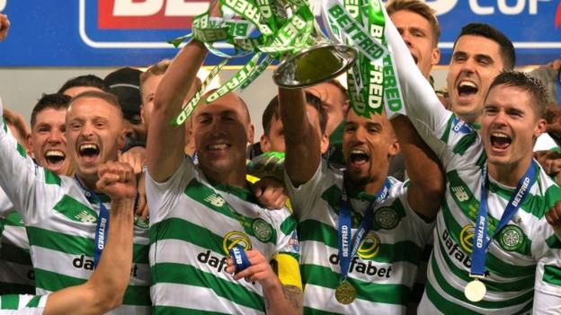 League cup final celtic relish 39 digging deep 39 aberdeen - Bbc football league 1 table ...