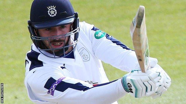 Hampshire captain James Vince