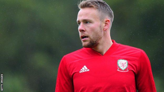 Wales defender Chris Gunter