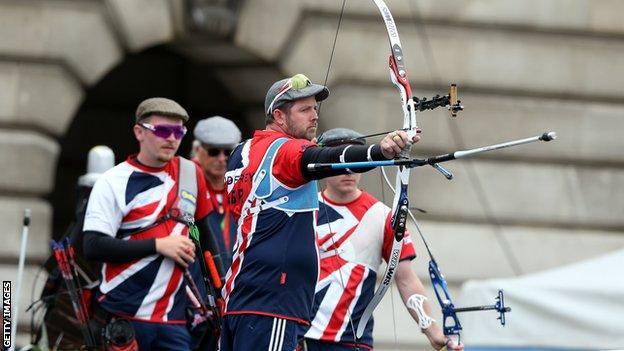 Great Britain men's archery team